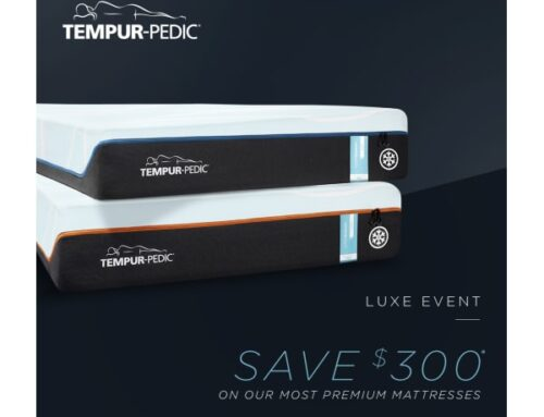 Spring Luxe Event at Tempur-Pedic